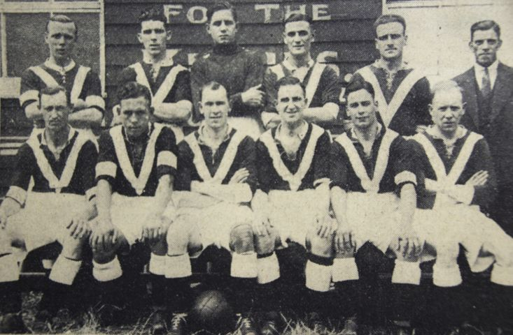 Boston United squad 1934/5