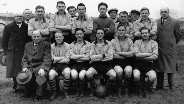The Boston United 53/4 squad