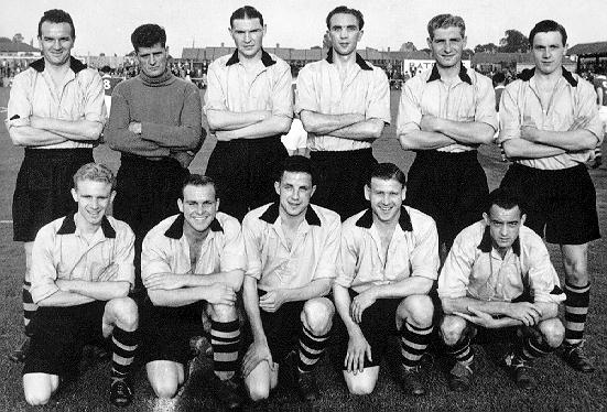 Boston United's First Team 1954/5