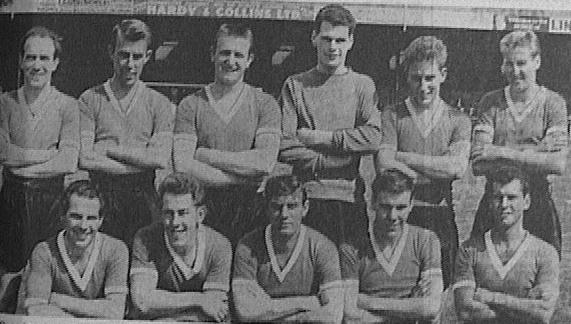 The 61/62 first team