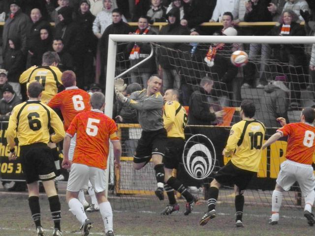 Gary King's goal that was disallowed