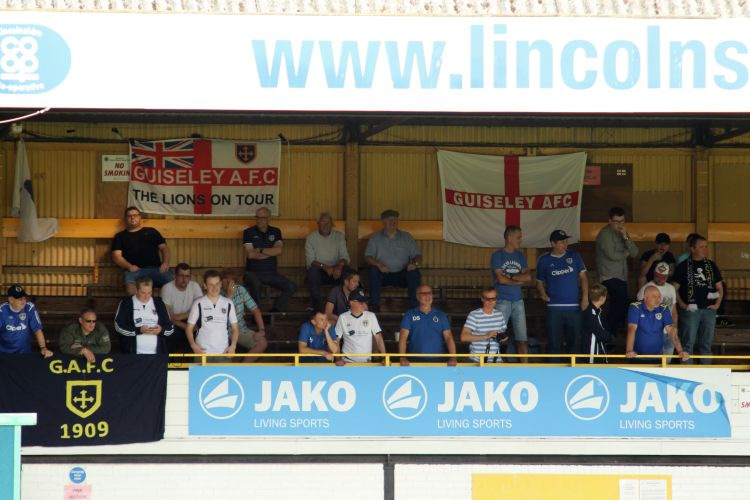 The Guiseley fans