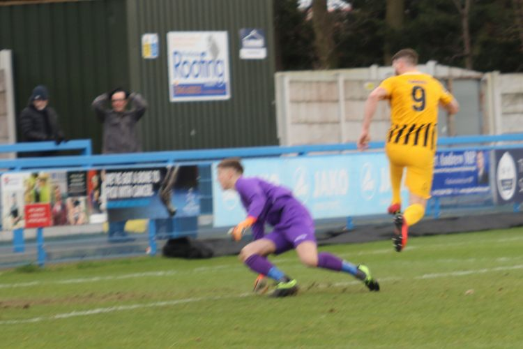 Gavin Allott opens the scoring