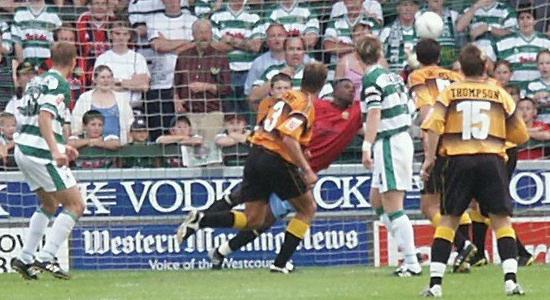 Abbey almost stops Yeovil's second goal