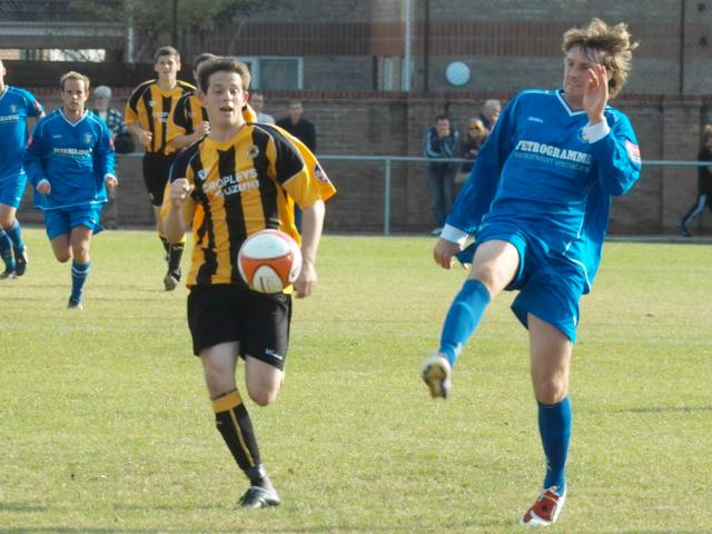 Marc Newsham speeds forward