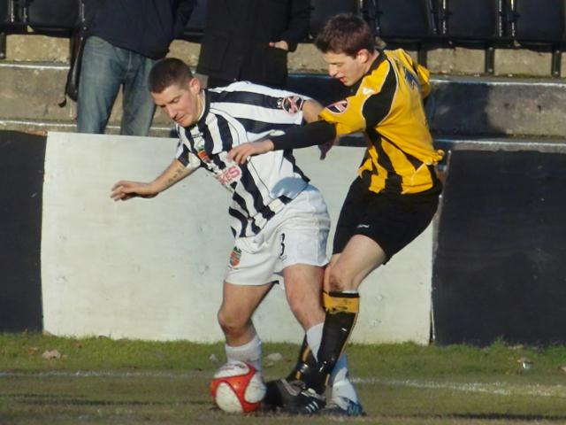 Marc Newsham tackles