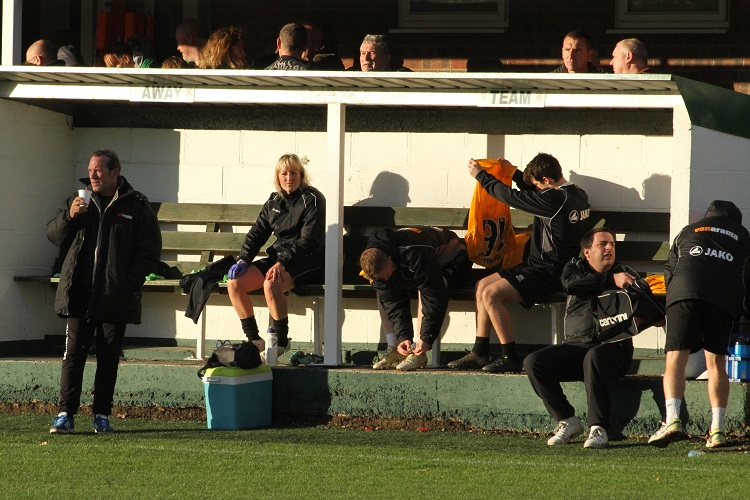 The Away Team Bench