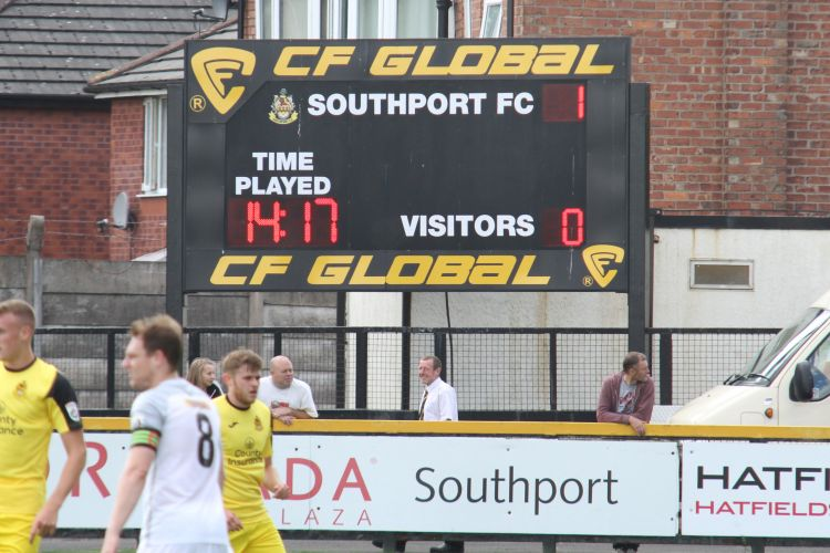 Southport take the lead
