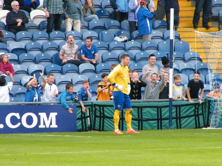 Farman after Stockport's third
