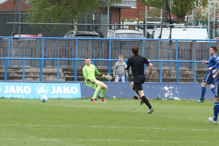 Second Curzon goal in a minute